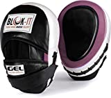 GEL Focus Pads: By Blok-IT --- [Focus Mitts, Punch Mitts, Hook & Jab Pads, Punching Mitts] --- Suitable For Boxing, MMA, Thai Boxing, Kickboxing, Boxercise, Karate, Taekwondo, Krav Maga, Wing Chun & Other Martial Arts (Rosa)