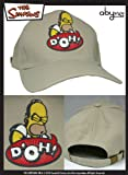 AbyStyle – abycap002 – Kostüm – Simpsons – Cap – Homer Doh – Beige