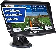 GPS Navigation für Auto, Navigationsgerät Landkarte CARRVAS 7 Zoll Navi für LKW und EU 2020 Neueste Karten Spr