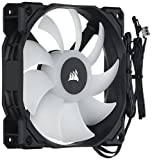 Corsair CO-9050059-WW SP Series SP120 120 mm Low Noise High Pressure Multi-Colour RGB LED Case Fan - Black