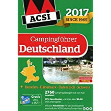 ACSI Campingführer Deutschland 2017 (Hallwag Promobil)