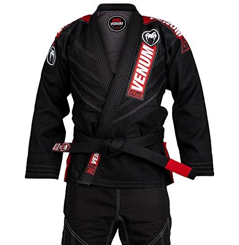 Venum elite 2.0, kimono bjj uomo, nero, a3