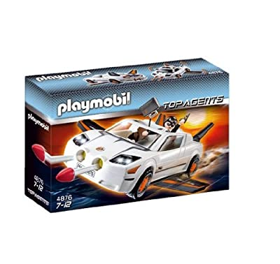 Super Vehículo Agente Secreto de Playmobil (626127)