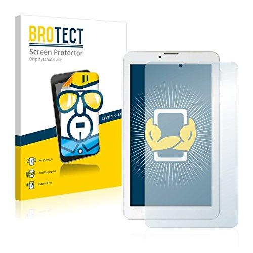 2X BROTECT HD Clear Bildschirmschutz Schutzfolie für i.onik TM3 Serie 1-7 (kristallklar, extrem Kratzfest, schmutzabweisend)