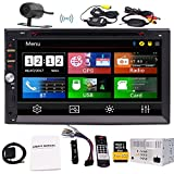 Wireless R¨¹ckfahrkamera +-INDASH Doppel 2?DIN Car DVD-Player LCD-Touchscreen Auto Audio mit Bluetooth Autoradio GPS Antenne + Gratis gratis 8?gb GPS MAP Schrecken Doppel DIN Autoradio Auto Audio