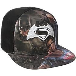 DC Comics Batman vs. Superman Sublimated Logo Snapback Gorra De Béisbol