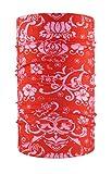 HeadLOOP Multifunktionstuch rot Loop Schal Schlauchtuch Halstuch Kopftuch Microfaser