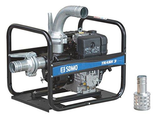 SDMO TR3-60H 4-Zoll Heavy Duty Trash Diesel Wasserpumpe -