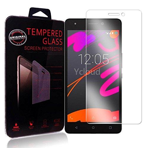 Ycloud Panzerglas Folie Schutzfolie Bildschirmschutzfolie für BQ Aquaris M5.5 screen protector mit Härtegrad 9H, 0,26mm Ultra-Dünn, Abger&ete Kanten