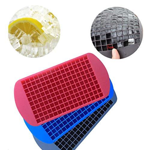 Webla 3PC Ice Cube Food Grade Spezielle Lebensmittelqualität Silikon Eiswürfelschale, Silikon