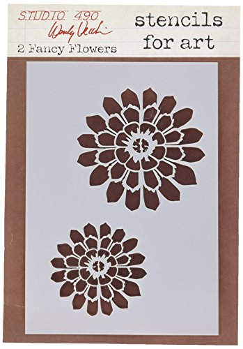 stampers-anonymous-wendy-vecchi-studio-stencil-collection-65-inch-by-45-inch-fancy-flowers