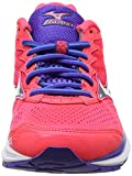 Mizuno Wave Rider 20 (w), Chaussures de Running Entrainement Femme, Rose (Diva Pink/Silver/Liberty), 40.5 EU