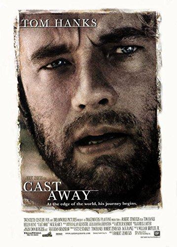 Cast Away Original Filmplakat - Beidseitige Original-Kinoplakat Poster (69Cm X 102Cm)