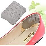 Bargain World 5 pares de zapatos de cuero de los pies del pie del cuidado correr a pie dentro de la protección de espesamiento suave cojín esteras arco del talón almohadillas