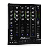 Skytec STM-7010 4-Kanal DJ-Mischpult USB MP3 EQ