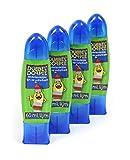 4er Pack Kinder Bastelkleber im praktischen Dosierstift mit 2 Spitzen