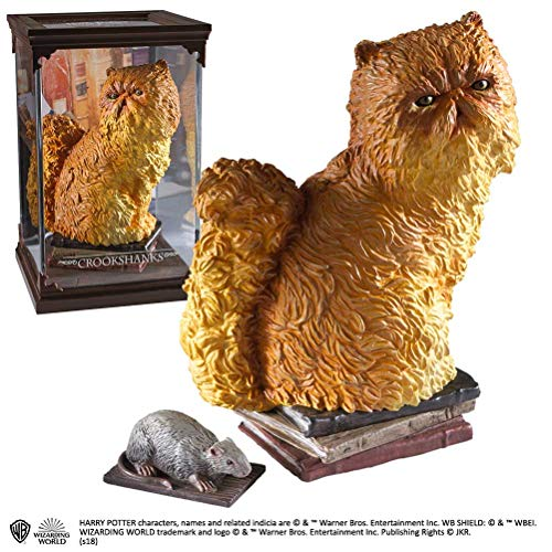 Noble Collection Harry Potter Magical Creatures Statue Crookshanks 13