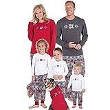 Weihnachtspyjama Familie Set Schlafanzug