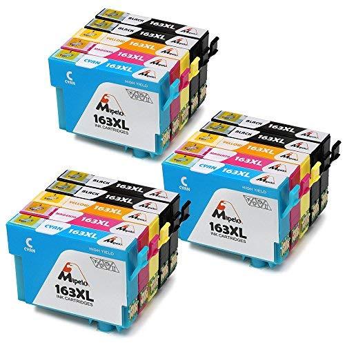 Mipelo Kompatibler Ersatz für Epson 16 16XL Hohe Kapazität Druckerpatrone - 15 Pack Gilt für Epson Workforce WF-2660DWF WF-2630WF WF-2530WF WF-2510WF WF-2750DWF WF-2760DWF WF-2010W WF-2650DWF Drucker