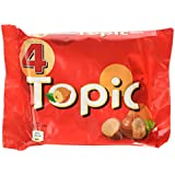Topic Chocolate Bar 4-Pack, 188g