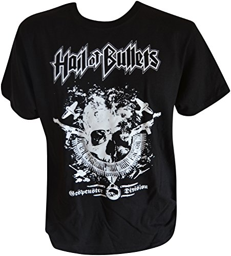 Hail Of Bullets Gespensterdivision T-Shirt Schwarz