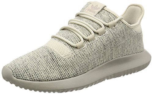 adidas Herren Tubular Shadow Knit Sneakers, Braun (Clear Brown/Light Brown/Core Black), 45 1/3 EU