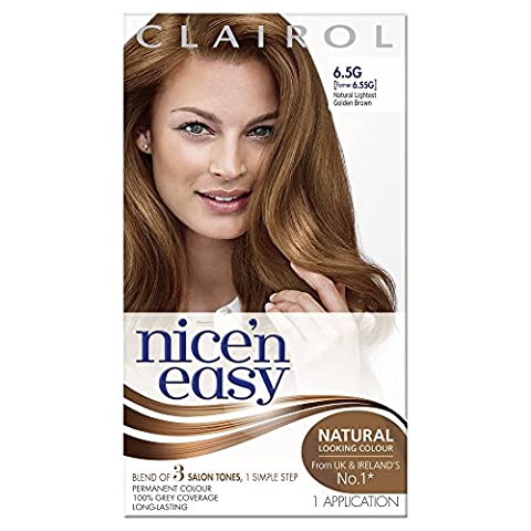 Clairol Nice 'n Easy Permanent Hair Colour - 114A Natural Lightest Golden Brown