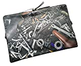 Echter Paul Smith Designer Laptop Tasche/Schutzhülle–Cycle Teile Grafiken