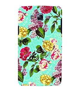 For Samsung Galaxy J5 (2015) :: Samsung Galaxy J5 Duos (2015 Model) :: Samsung Galaxy J5 J500F :: Samsung Galaxy J5 J500Fn J500G J500Y J500M floral pattern, floral backgound, patter, flower Designer Printed High Quality Smooth Matte Protective Mobile Case Back Pouch Cover by APEX