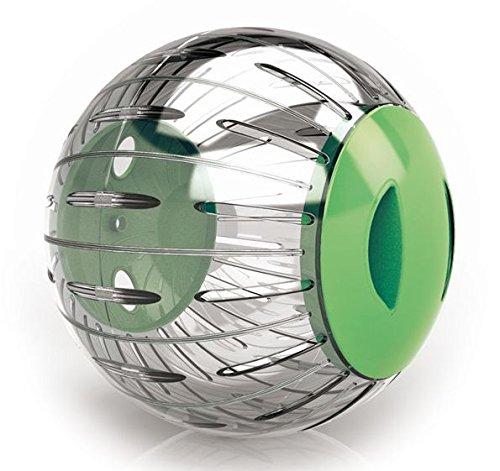 PeSoBo Hamsterball Joggingball Kugel Hamsterlaufrad Laufkugel Hamster Spielzeug (12,5cm grün) (Hamster Grüne)