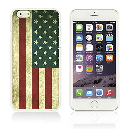 OBiDi - Flag Pattern Hard Back Case / Housse pour Apple iPhone 6 Plus / 6S Plus (5.5)Smartphone - Germany America