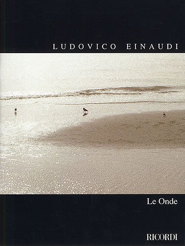 LUDOVICO EINAUDI Le Onde -- 13 Stücke für Klavier (1996) plus praktischem Bleistift (Noten / sheet music)