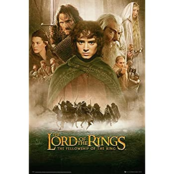Empire 498670 Affiche du Film Lord of The Rings Fellowship