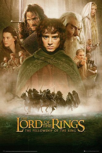 GB-Eye-61-x-915-cm-Herr-der-Ringe-Fellowship-of-the-Ring-Maxi-Poster