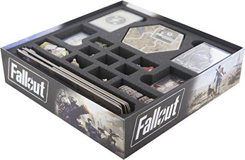 fallout 4 figur Feldherr Schaumstoff-Set für Fallout Brettspielbox
