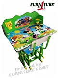 #1: Furniture First American Frozen Team Kids Study Table & Chair Set for Kids(3-10 Years)