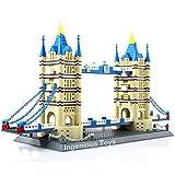 Il Torre Ponte di Londra by Wange 1033pcs Nuovo Scatola Set #8013