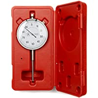 0–50mm esfera Indicador Calibre Reloj DTI 0.01mm Resolución 12meses garantía