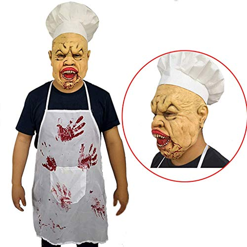 Latex Vollkopf Maske Halloween Kostüm Monster Maske Blood Face Crazy Evil Killer Kostüm Für Erwachsene Gruselige Ghost Ghoul Maske Mit - Ghost Face Killer Kostüm