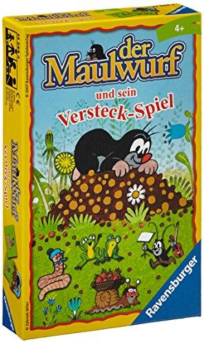 (Ravensburger 23244 - Maulwurf Versteckspiel - Kinderspiel/ Reisespiel)