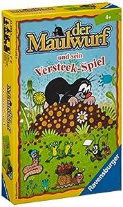 Ravensburger Spiel 23244 Der Maulwurf und sein Versteck-Spiel - Juego infantil (versión en alemán)