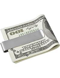 HOUSWEETY Pince a Billets / CB / Porte Billet / Carte de Credit en Acier Inoxydable