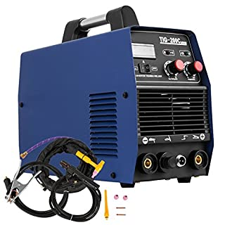 MosaicAL 200AMP TIG HF Inverter Welding Machine MMA Inverter Welder with HF Start Welder Welding Machine Portable (TIG-200)