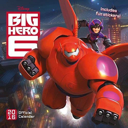 Official Big Hero Six 2016 Square Wall Calendar (Disney Pixar) (Calendar 2016)