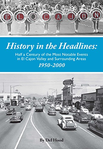 History in the Headlines: Half a Century of the Most Noatable Events in El Cajon Valley and Surrounding Areas