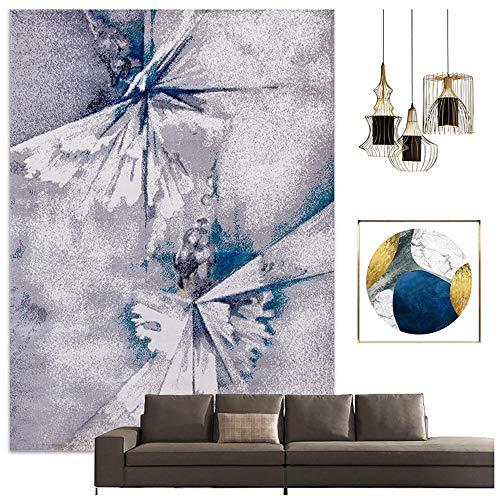 Teppiche Nordic Modernen Minimalistischen, Wohnzimmer Großen Weichen Tritt Schlafzimmer Studie Slip Leicht Zu Pflegen (Color : #2, Size : 160x230cm) -