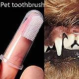 Bobopai 5cm Super Soft Pet Finger Toothbrush Teddy Dog Brush Bad Breath Tartar Teeth Care Dog Cat Cleaning Supplies