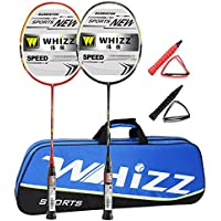 Whizz Graphite Badminton Racquet 87g Set of 2