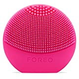 FOREO LUNA play Facial Cleanser Brush Fuchsia Ultra-Portable and Fully Waterproof Sonic Cleansing Device