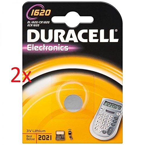 Preisvergleich Produktbild DURACELL Electronics CR REIHE 3V LITHIUM - CR1616 / CR1620 / CR2016 / CR2025 / CR2032 / CR2430 / CR2450 (2x CR1620)